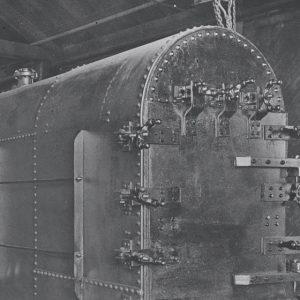Antique boiler