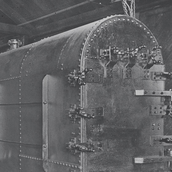 Antique boiler