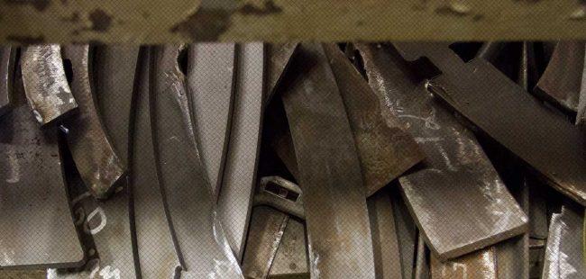 Detail of raw metal